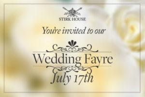 Stirk House Wedding Fayre – July 17th