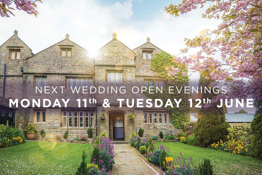 Our NEXT Wedding Open Evenings