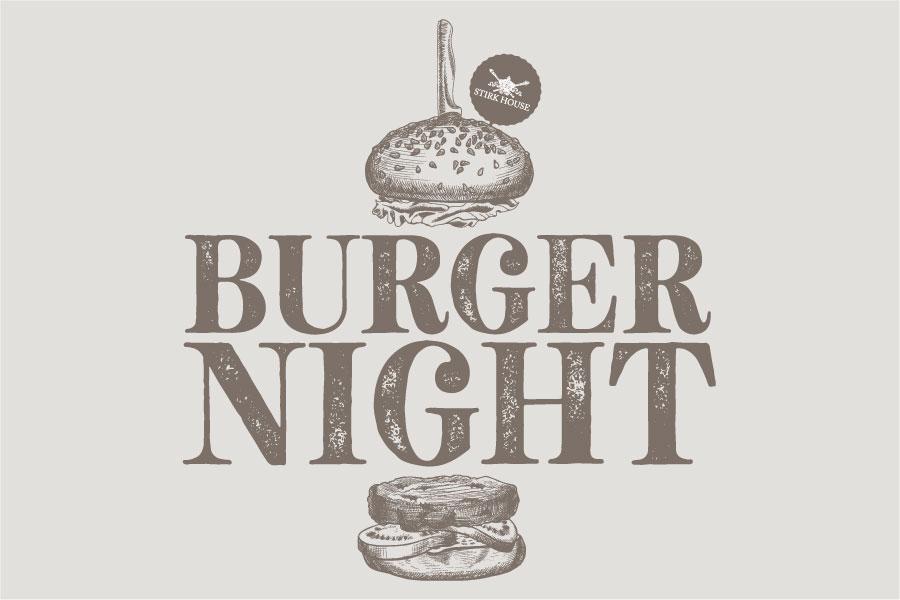 *NEW* Stirk House Burger Night