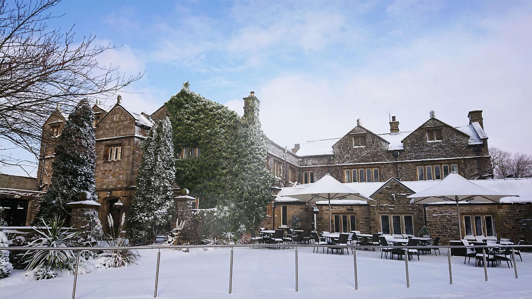 Stirk House Snow